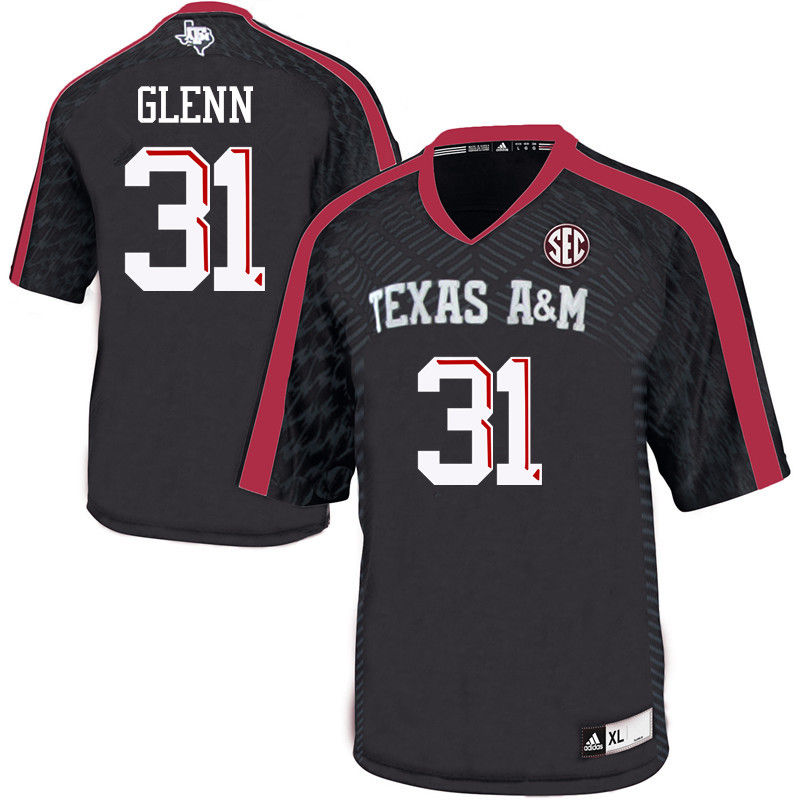 Men #31 Aaron Glenn Texas A&M Aggies College Football Jerseys-Black